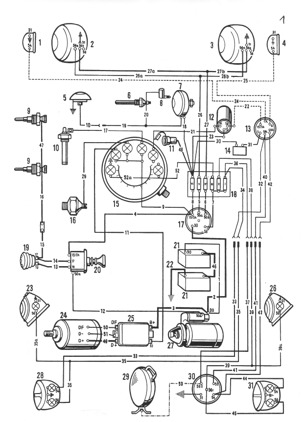 Großartig Porsche Schaltplan Galerie - Elektrische Schaltplan-Ideen ...